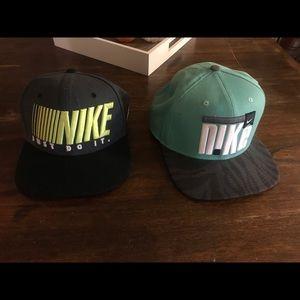2 Nike Hats